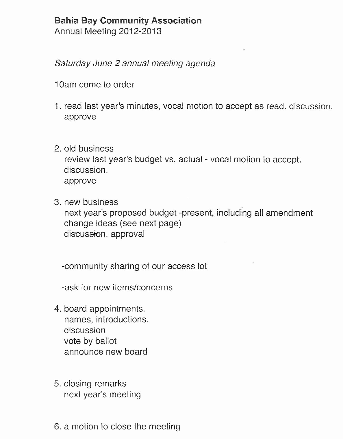 Hoa Meeting Minutes Template Lovely 27 Of Annual Hoa Meeting Agenda Template
