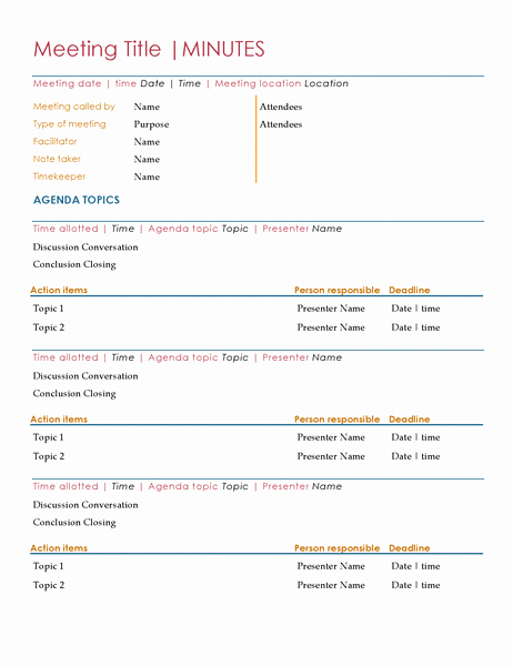 Hoa Meeting Minutes Template Luxury Meeting Minutes Templates 18 Free Printable Docs Xlsx & Pdf Ideas