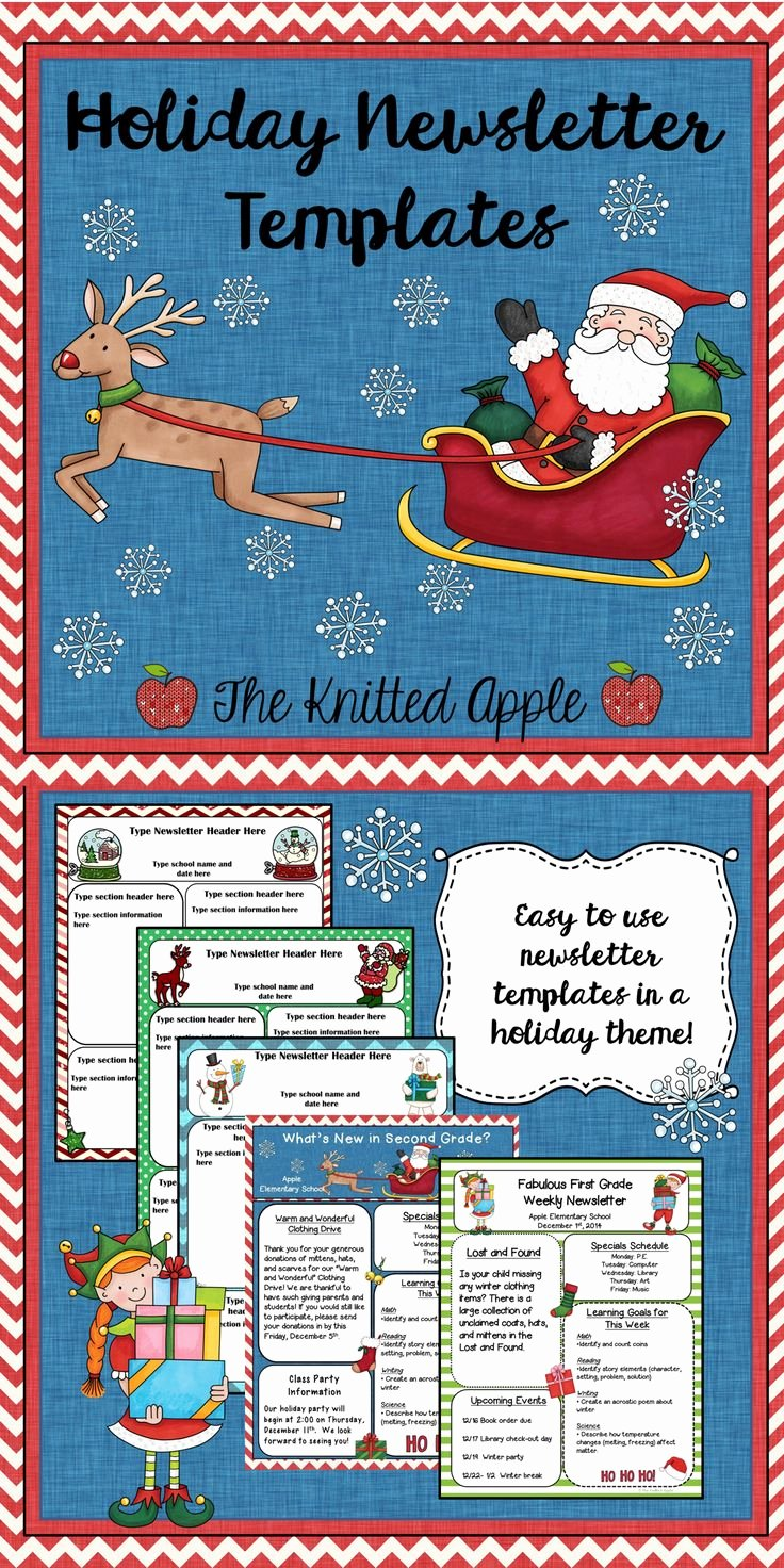 Holiday Newsletter Templates Free Luxury 17 Best Images About Cedar Chest On Pinterest