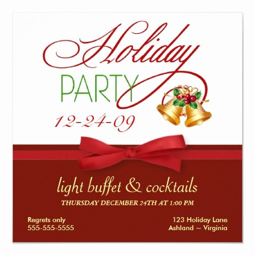 Holiday Open House Invitations Beautiful Christmas Holiday Open House Invitations