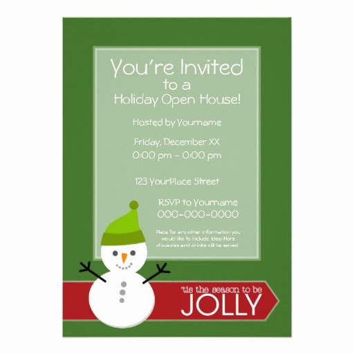 Holiday Open House Invitations Inspirational Christmas Open House Invitations 400 Christmas Open House Announcements & Invites