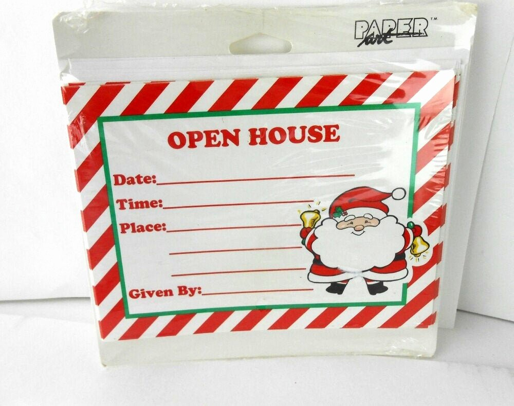 Holiday Open House Invitations Luxury Vintage Christmas Open House Invitations Christmas Party
