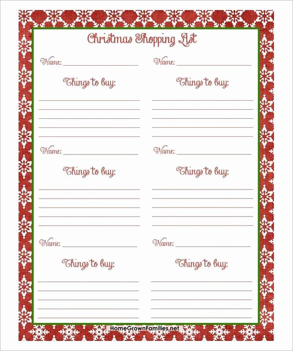 Holiday Wish List Template Fresh 24 Christmas Wish List Template to Fill Out by Everyone