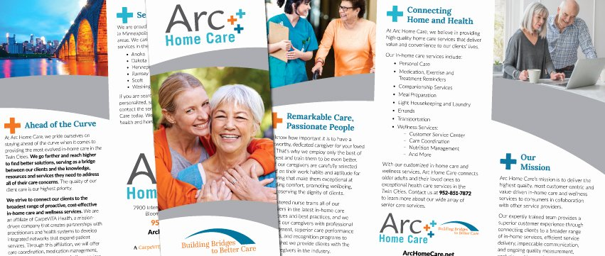 Home Health Care Brochures Best Of Award Winning Home Care Marketing Ideas & Content