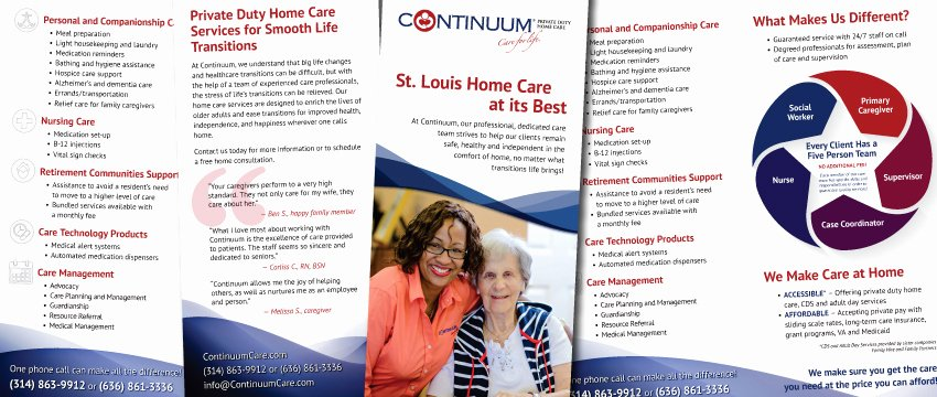 Home Health Care Brochures Elegant Portfolio Archive Home Care Marketing Experts