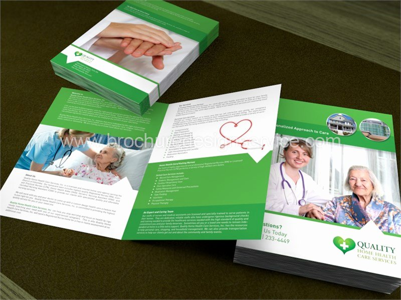 Home Health Care Brochures Inspirational Home Care Brochure Design and Printing Services for Home Care Brochures