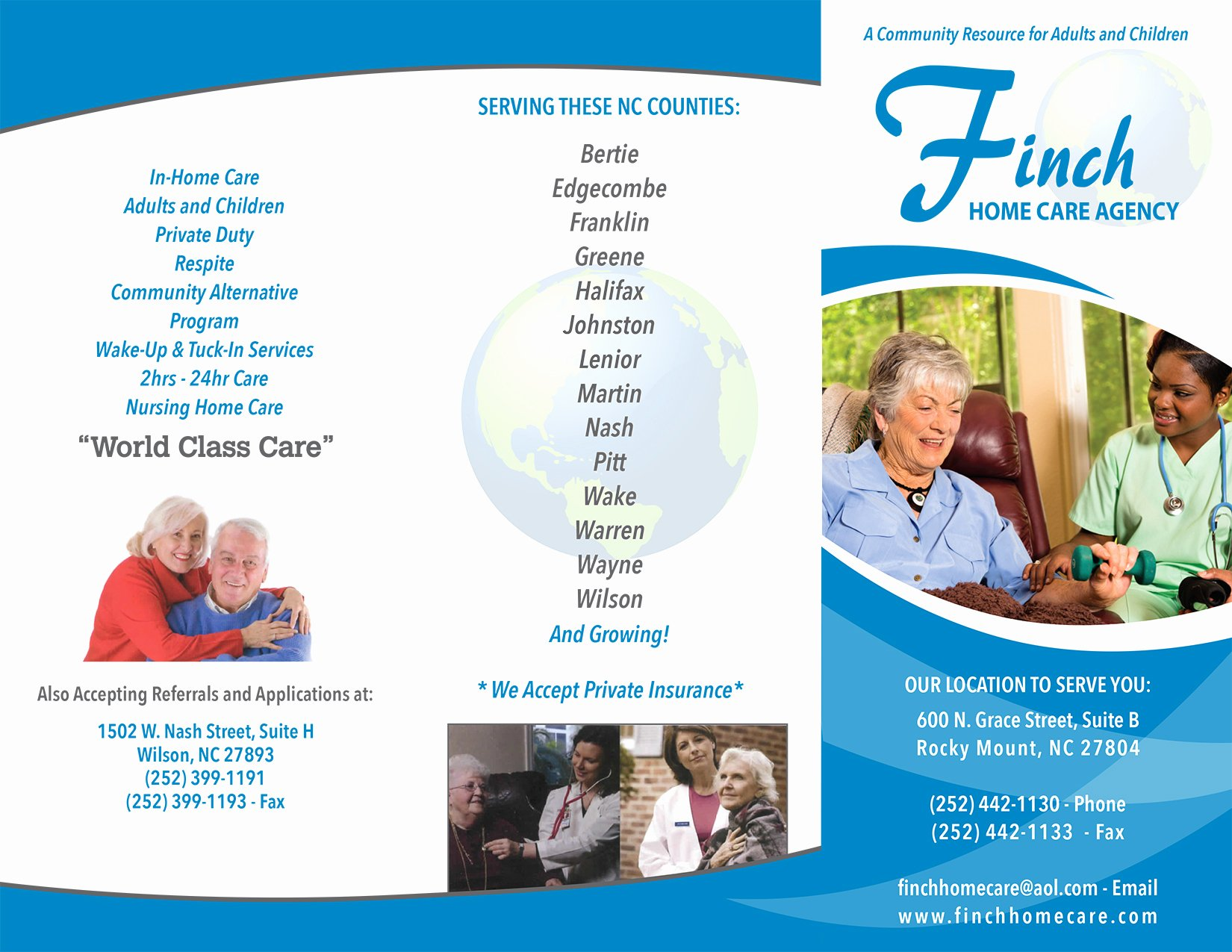 Home Health Care Brochures New Am – Brochures – Anitas Marketing
