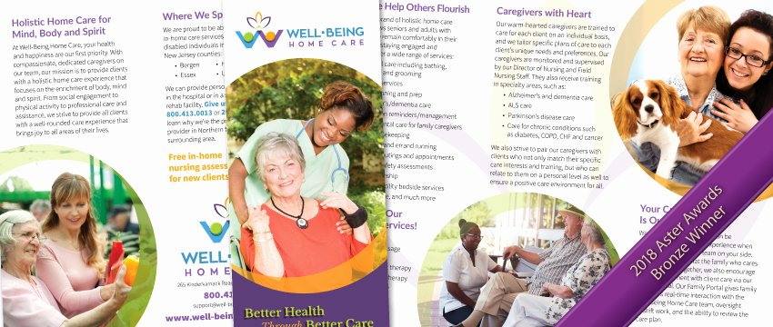 Home Health Care Brochures Unique Portfolio Archive Home Care Marketing Experts