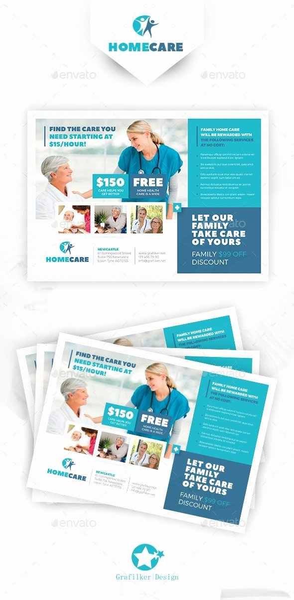 Home Health Care Flyers Awesome Home Health Care Flyer Templates