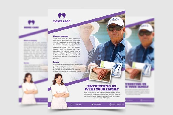 Home Health Care Flyers Beautiful Free Wel E Home Flyer Templates Designtube Creative
