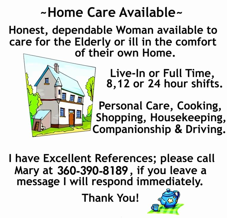 Home Health Care Flyers Elegant Flyer Home Care Available by Acmebrainsurgery