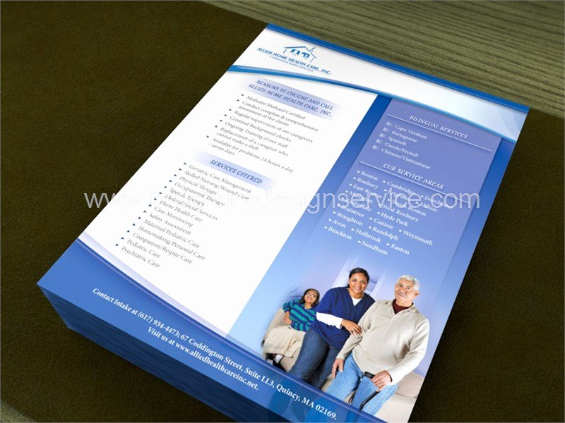 Home Health Care Flyers Luxury Home Healthcare Flyer Brochure Design Agency Templates