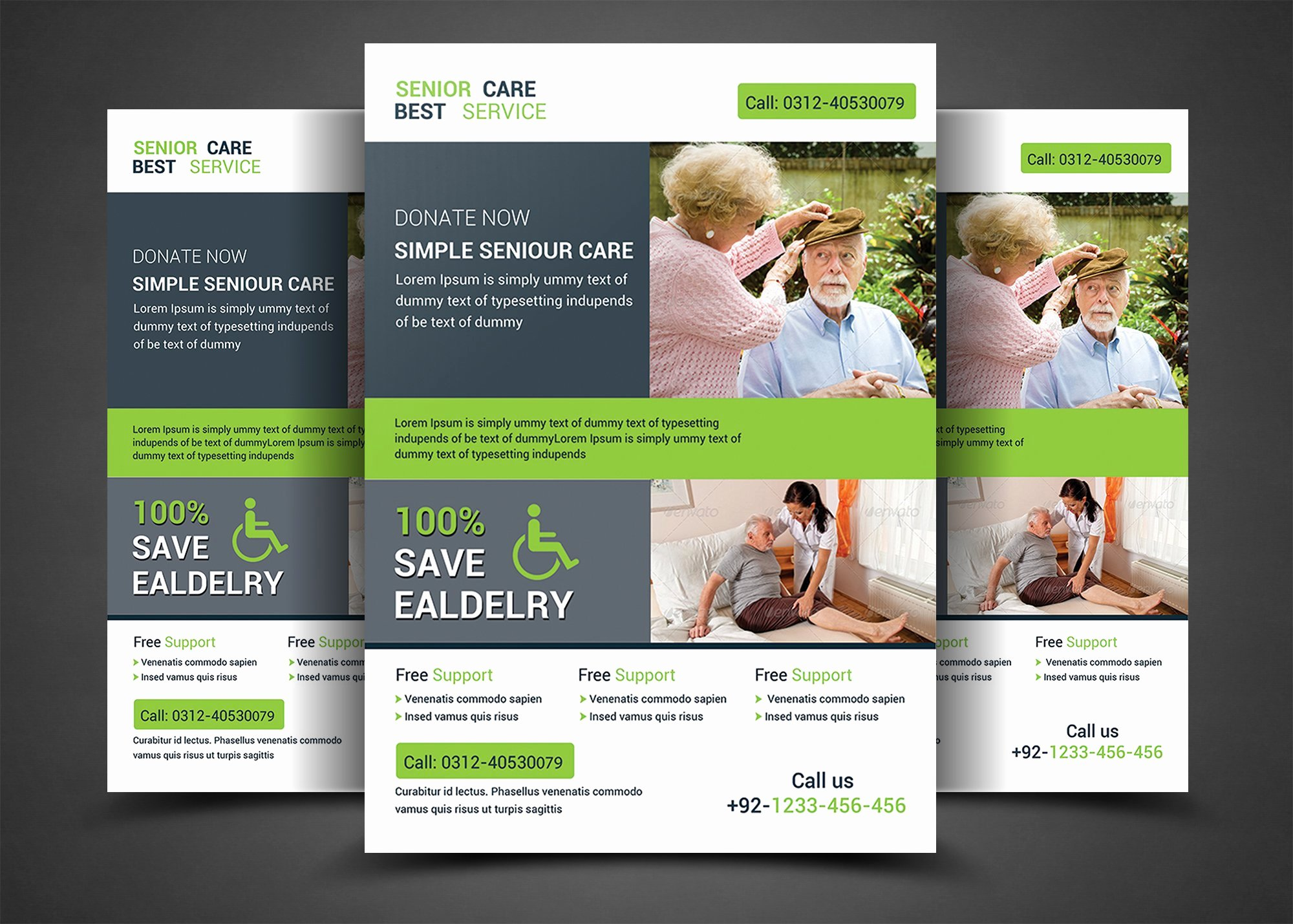 Home Health Care Flyers New Home Care Flyer Templates Flyer Templates Creative Market