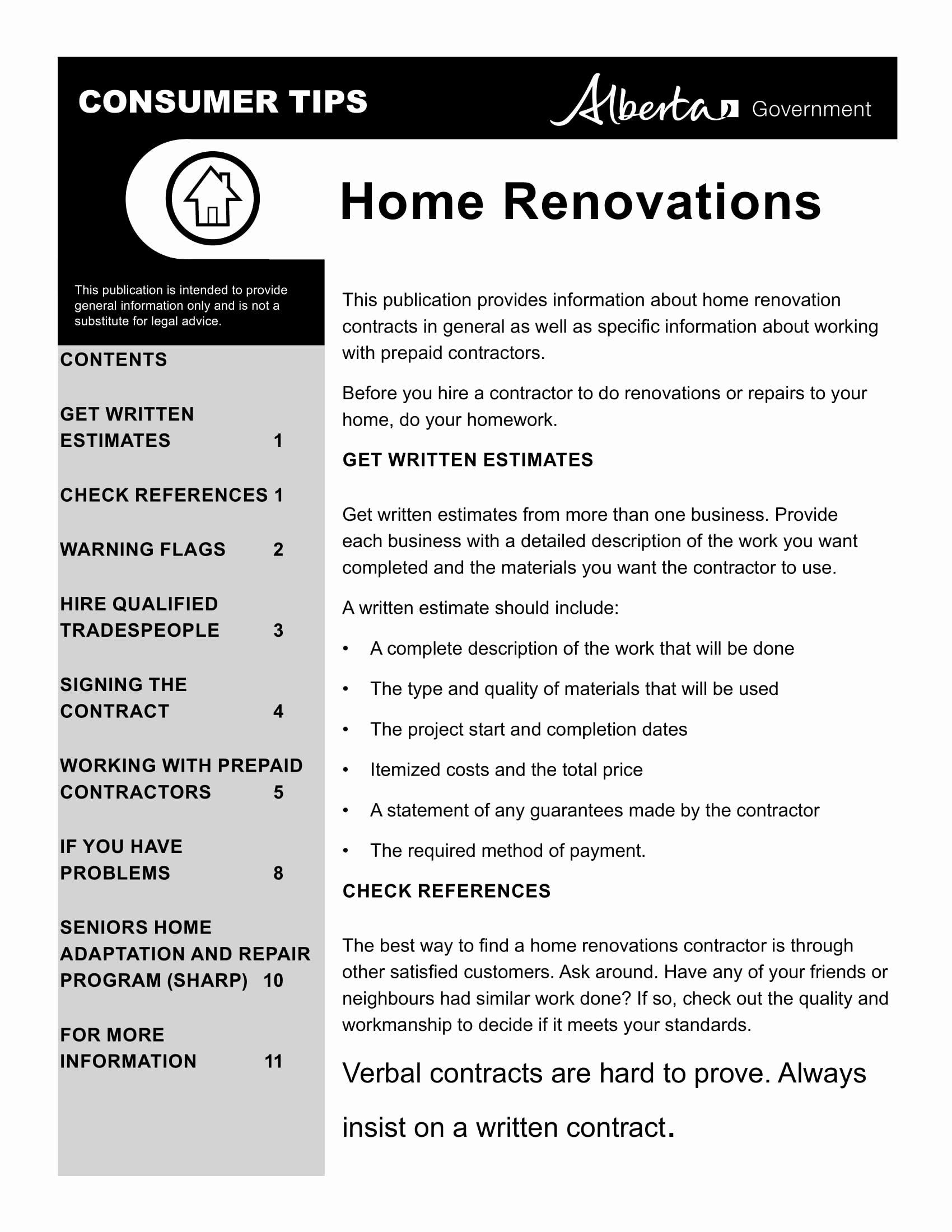 Home Improvement Contract Template Unique 10 Bathroom Renovation Contract Template Examples Pdf Word Google Docs