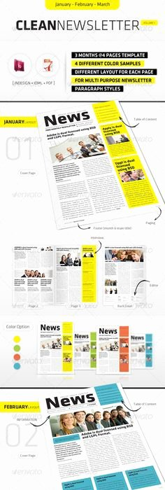 Homeowners association Newsletter Template Lovely Make A Monthly Newsletter for Your Neighborhood association with Pre Designed Templates From