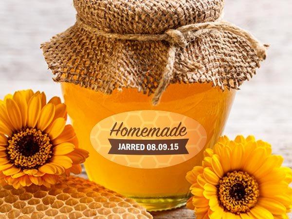 Honey Jar Labels Printable Beautiful Custom Honey Labels and Jar Labels Templates