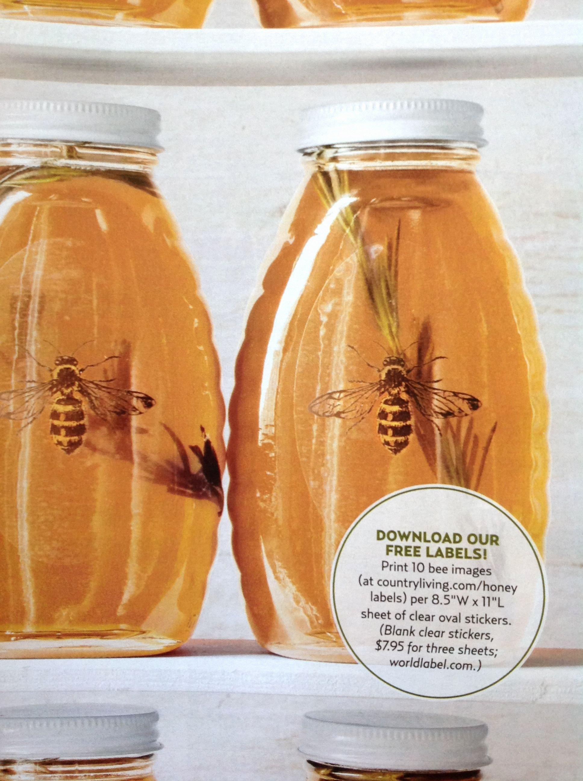 Honey Jar Labels Printable Lovely Honey Labels for You Pinterest
