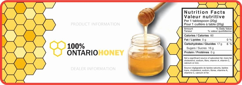 Honey Jar Labels Template Awesome Honey Labels