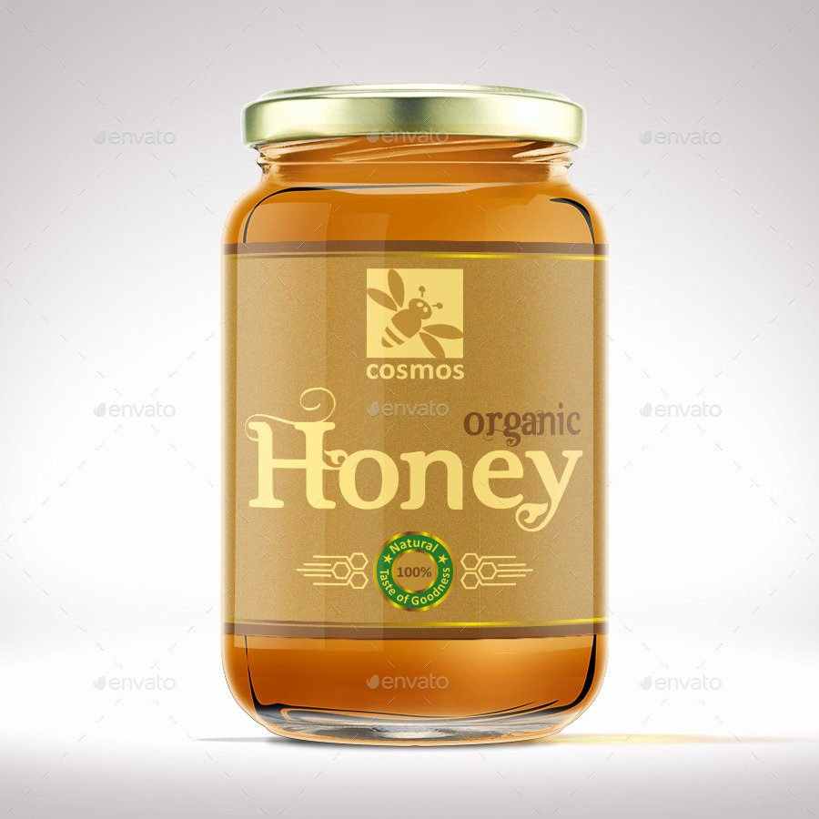 Honey Jar Labels Template Beautiful Honey Jar Label Template by Designer0007