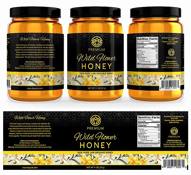 Honey Jar Labels Template Beautiful the 25 Best Honey Label Ideas On Pinterest