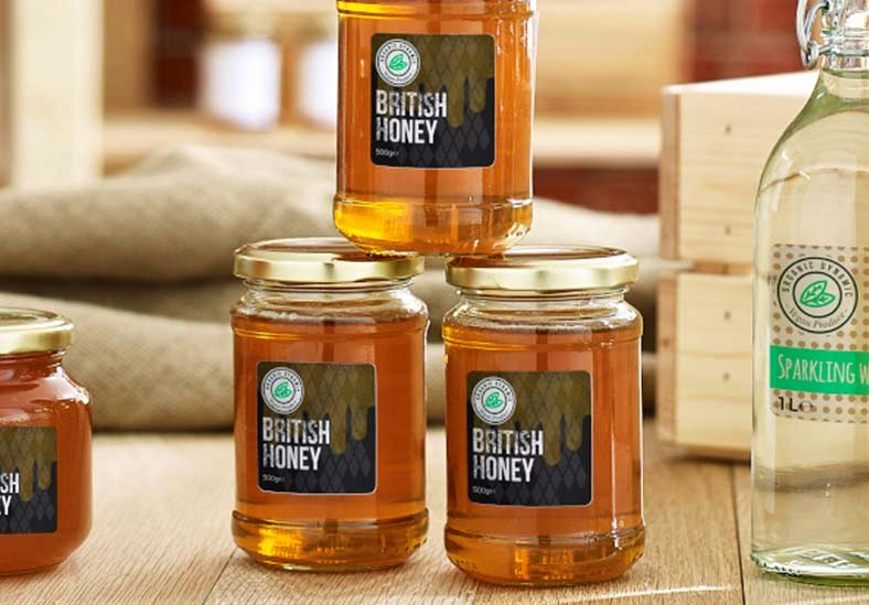 Honey Jar Labels Template Inspirational Honey Jar Labels Honey Jar Stickers