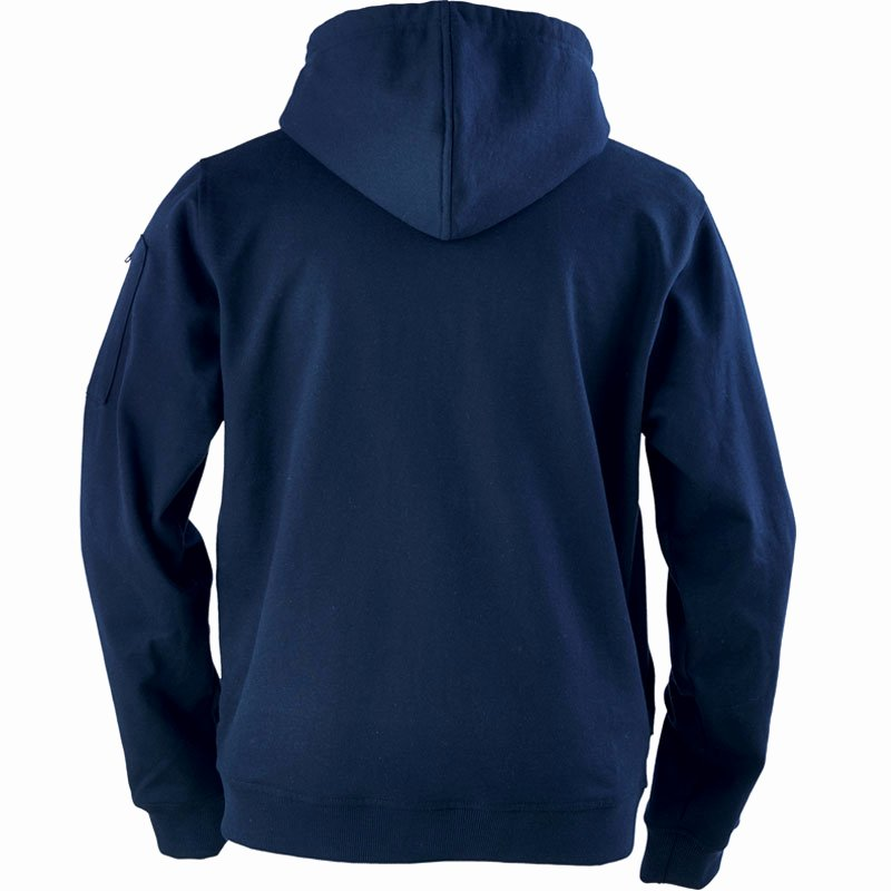 Hoodie Front and Back Beautiful Ergodyne 7445 Core Flame Resistant Zip Front Hooded Fleece Sweatshirt