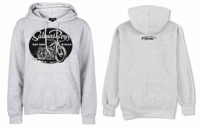Hoodie Front and Back Best Of Pull Over Hoo Grey Classic Blue Bike Logo Front Small Salinas Boys Crown Logo Upper