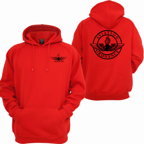 "Hoodie Front and Back New or ""red"" Pullover Sweat Shirt Hoo or Mart"