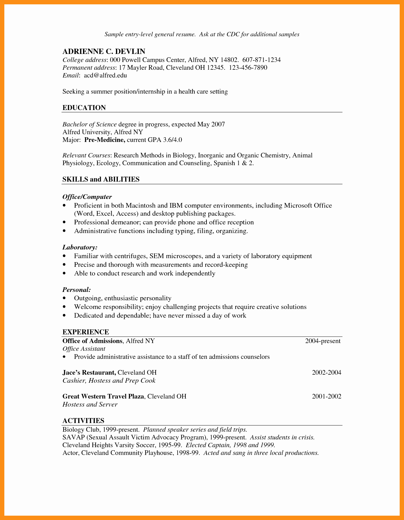 Hostess Job Description for Resume Elegant Hostess Server Job Description