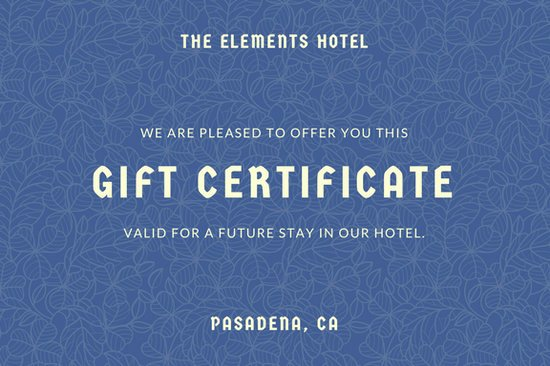 Hotel Gift Certificate Template Awesome Customize 601 Coupon Templates Online Canva