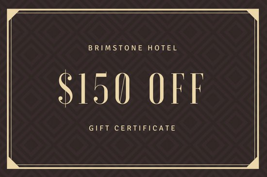 Hotel Gift Certificate Template Best Of nordic Hotel Gift Certificate Templates by Canva