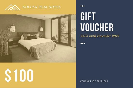 Hotel Gift Certificate Template Elegant Hotel Gift Certificate Templates Canva