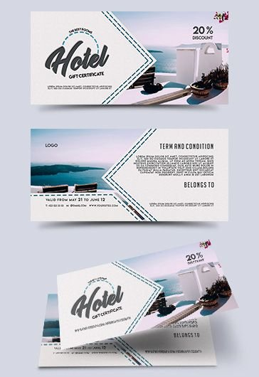 Hotel Gift Certificate Template Fresh Hotel – Free Psd Tri Fold Psd Brochure Template – by Elegantflyer
