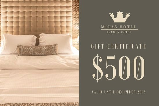 Hotel Gift Certificate Template Fresh Luxury Hotel Gift Certificate Templates by Canva