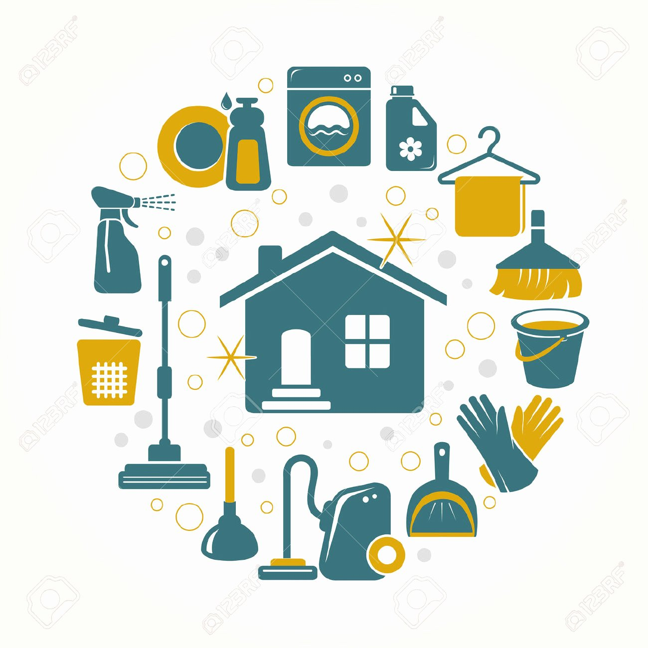 House Cleaning Logo Images Awesome Clipart House Cleaning Business Clipground