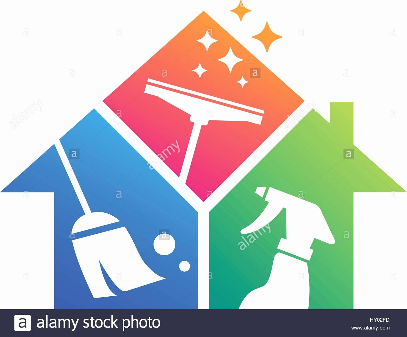 House Cleaning Logo Images Fresh Home Cleaning Cleaning Service Building Cleaning Vector Stock Vector Art & Illustration