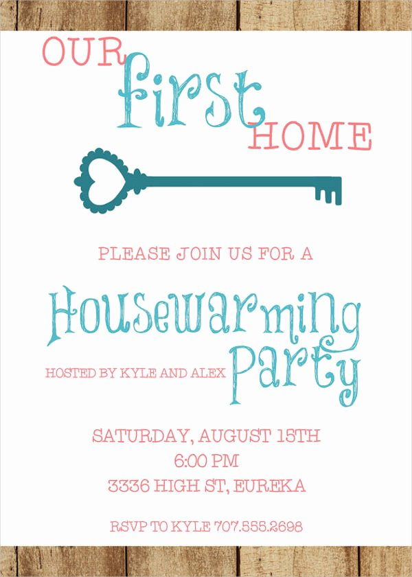 Housewarming Invitation Template Microsoft Word Beautiful 90 Sample Invitation Cards Word Psd Ai Indesign