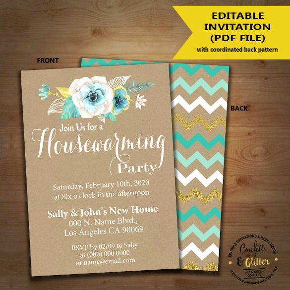 Housewarming Invitation Template Microsoft Word Best Of 35 Housewarming Invitation Templates Psd Vector Eps Ai