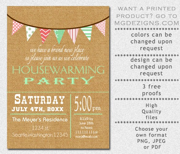 Housewarming Invitation Template Microsoft Word Inspirational 28 Housewarming Invitation Templates – Free Sample Example format Download