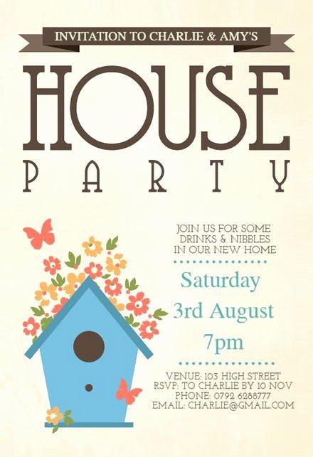 Housewarming Invitation Template Microsoft Word New Housewarming Invitation Templates Free