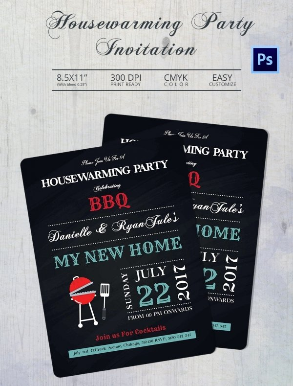 Housewarming Invitation Template Microsoft Word Unique Housewarming Invitation Template 30 Free Psd Vector Eps Ai format Download