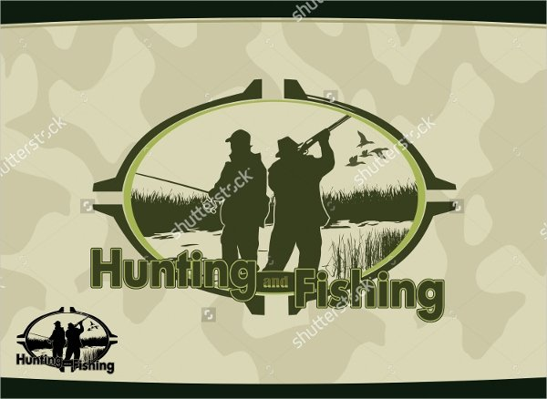 Hunting Logo Design Templates Awesome 17 Hunting Logos Free Psd Ai Vector Eps format Download
