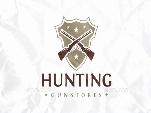 Hunting Logo Design Templates Beautiful 21 Hunting Logos Free Psd Ai Vector Eps format Download