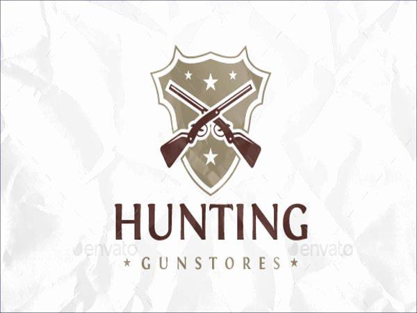 Hunting Logo Design Templates Beautiful 21 Hunting Logos Free Psd Ai Vector Eps format Download