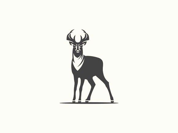 Hunting Logo Design Templates Inspirational Deer Logo Templates Creative Market
