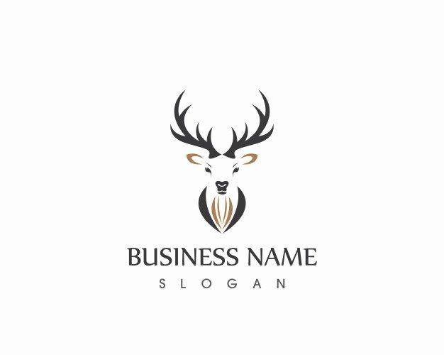Hunting Logo Design Templates Lovely Deer Head Logo Design Template Vector