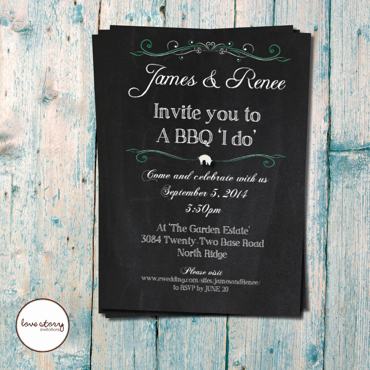 I Do Barbecue Invitations Beautiful Bbq I Do Wedding Invitation Casual by Lovestoryinvitations