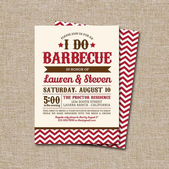 I Do Barbecue Invitations Elegant 34 Best I Do Bbq Invitations Images On Pinterest