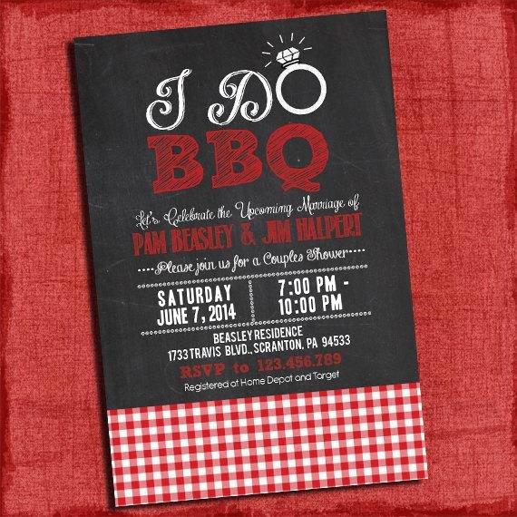 I Do Barbecue Invitations Inspirational Printable I Do Bbq Barbecue Couples Coed Wedding