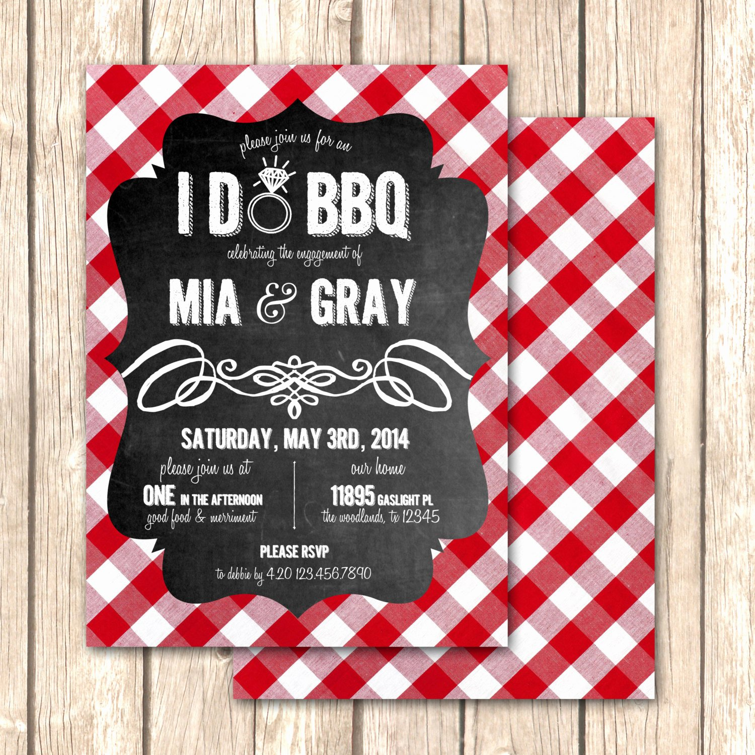 I Do Barbecue Invitations Luxury I Do Bbq Bridal Shower Invitation Rehearsal Dinner by Vivalalovely